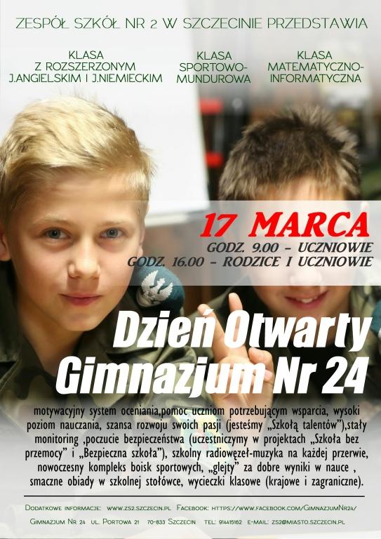 16 gimnazjum szczecin